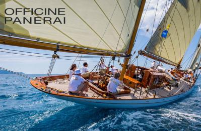 Panerai Event: Pedro Luis Olivares Joyero brings to cartagena the mythical boat of eilean regatas of 1936.