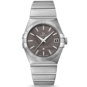 Omega Constellation Co-Axial Automatic Grey Dial 38 mm 123.10.38.21.06.001