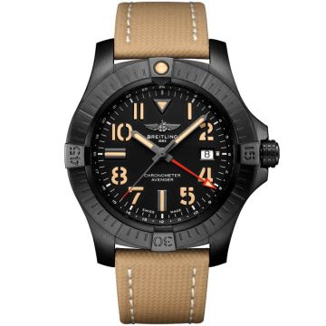 Breitling Avenger GMT Night Mission Black Titanium V32395101B1X1