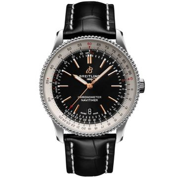 Breitling Navitimer Automatic 41 mm Steel Satin Black Dial A17326211B1P1
