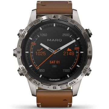 Garmin MARQ Adventurer Titanium Smartwatch 46 mm 010-02006-27
