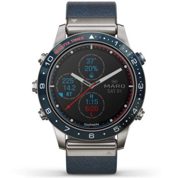 Garmin MARQ Captain Smartwatch 46 mm 010-02006-07