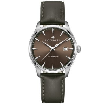 Hamilton Jazzmaster Gent Quartz Brown Dial 40mm