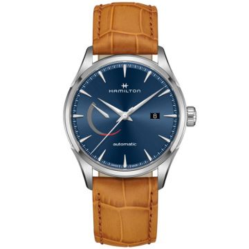 Hamilton Jazzmaster Power Reserve Automatic Blue Dial 42 mm