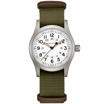 Hamilton Khaki Field Mechanical White Dial 38mm