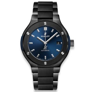 Hublot Classic Fusion Ceramic Blue Bracelet 42 mm