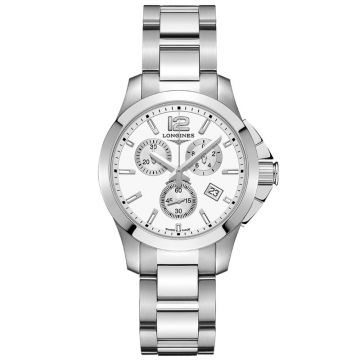 Longines Conquest Chronograph Ladies 36 mm L3.379.4.16.6