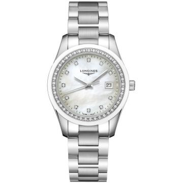 Longines Conquest Classic Quartz Diamonds 36 mm L2.387.0.87.6