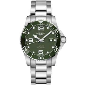 Longines HydroConquest Automatic Green Dial 41 mm L3.781.4.06.6