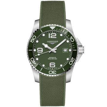 Longines HydroConquest Automatico Verde 41 mm L3.781.4.06.9