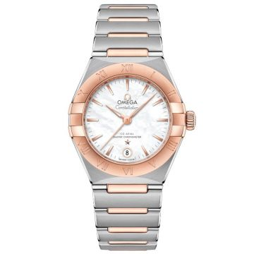 Omega Constellation Manhattan Sedna Gold 29 mm