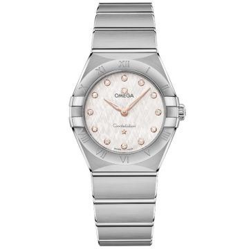 OMEGA Constellation Manhattan Quartz Diamonds 28 mm