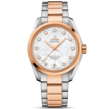 OMEGA Seamaster Aqua Terra 150M Diamonds Rose Gold 38.5 mm 231.20.39.21.55.003