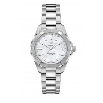 TAG Heuer Aquaracer 300M Lady Quartz Mother Of Pearl Dial 32mm