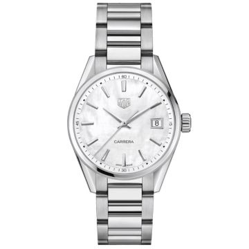 TAG Heuer Carrera Lady Quartz Steel 36 mm