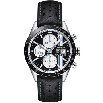 TAG Heuer Carrera Calibre 16 Fangio Limited Edition Automatic Chronograph 41mm CV201AT.FC6475
