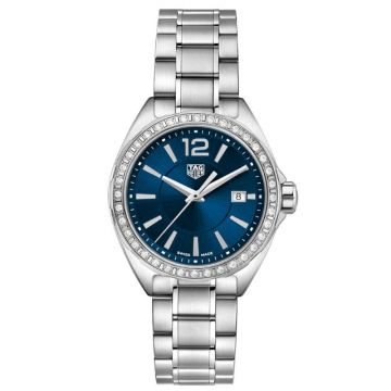 TAG Heuer Formula 1 Lady Diamonds Quartz Blue Dial 35mm
