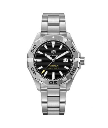 Tag Heuer Aquaracer 300M Calibre 5 Automatic Black Dial Stainless Steel 43mm