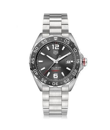 Tag Heuer Formula 1 200M Calibre 5 automatic all Steel Anthracite Dial 43mm