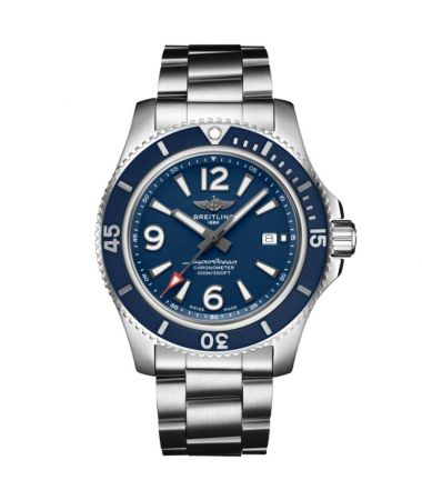 Breitling Superocean Automatic Blue Dial Steel 44 mm A17367D81C1A1