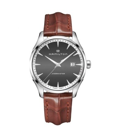 Hamilton Jazzmaster Quartz Grey Dial 40 mm