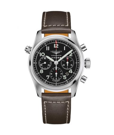Longines Spirit Automatic Chronograph 42 mm L3.820.4.53.0
