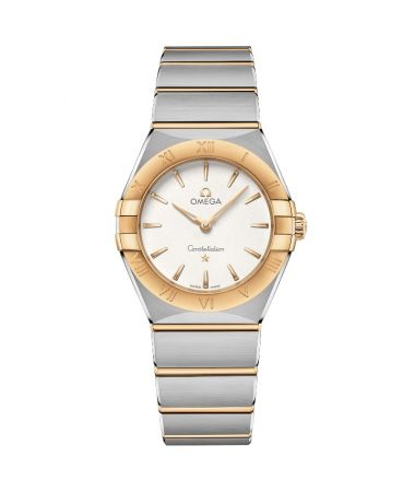 Omega Constellation Manhattan Cuarzo Oro Amarillo 28 mm 131.20.28.60.02.002