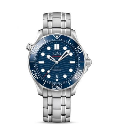 OMEGA Seamaster Diver 300M Co-Axial Master Crhonometer Steel Blue 42 mm