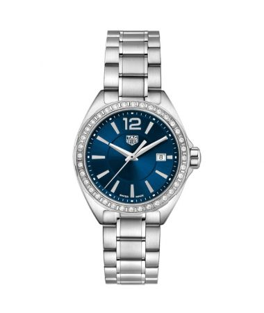 TAG Heuer Formula 1 Lady Diamonds Quartz Blue Dial 32mm