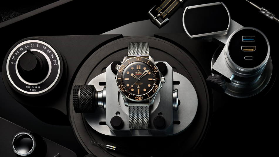 Launch of a special Seamaster! OMEGA Seamaster James Bond 007 Edition 2020