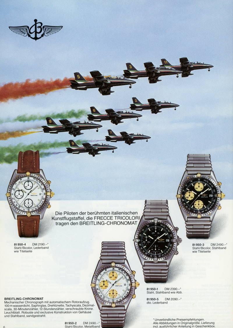 Breitling Chormomat Collection