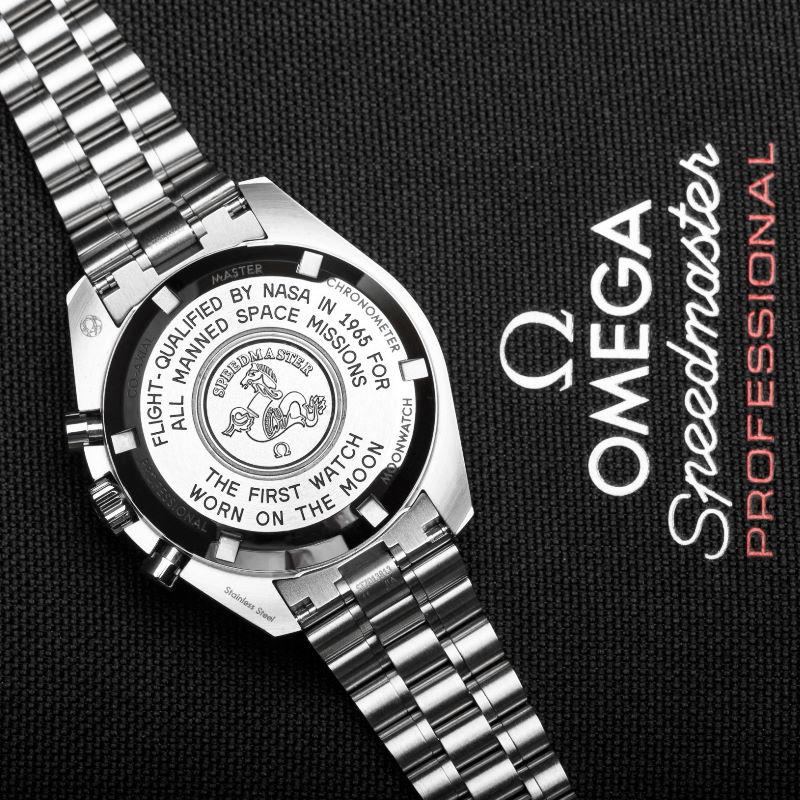 Omega Speedmaster Moonwatch 2021 case