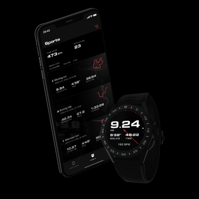 TAG Heuer Connected App Sports