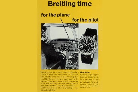 Breitling Navitimer History 1