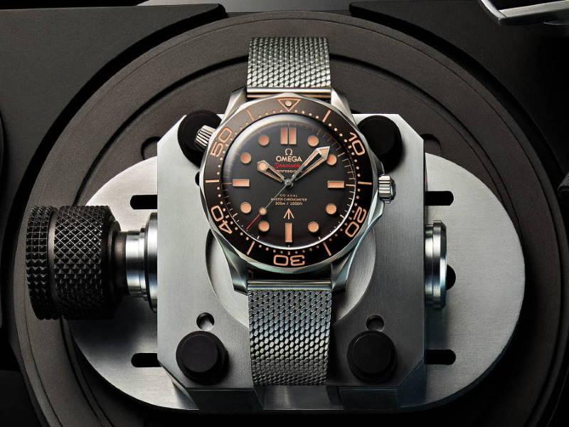 Omega Seamaster Diver 300M James Bond 007 Edicion 210.90.42.20.01.001