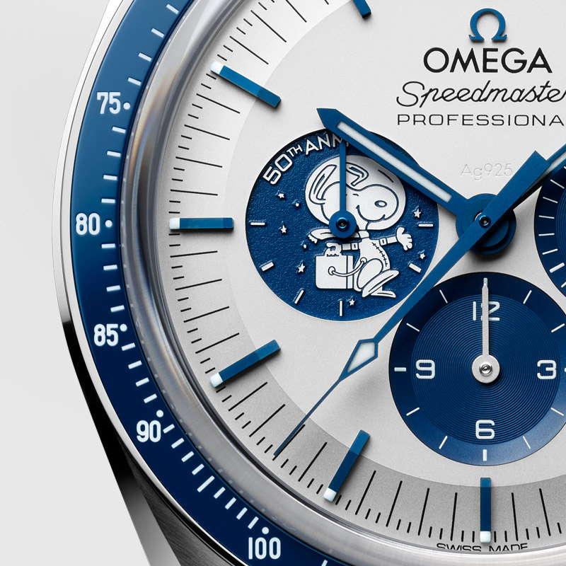Omega Speedmaster Silver Snoopy Award 310.32.42.50.02.001