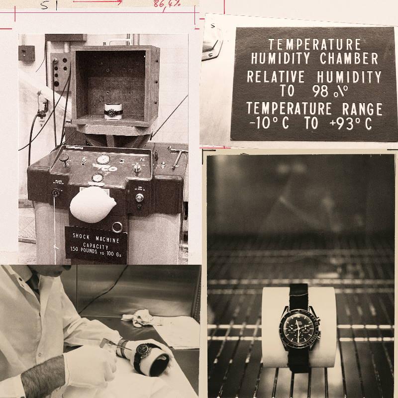 Speedmaster Moonwatch testing NASA